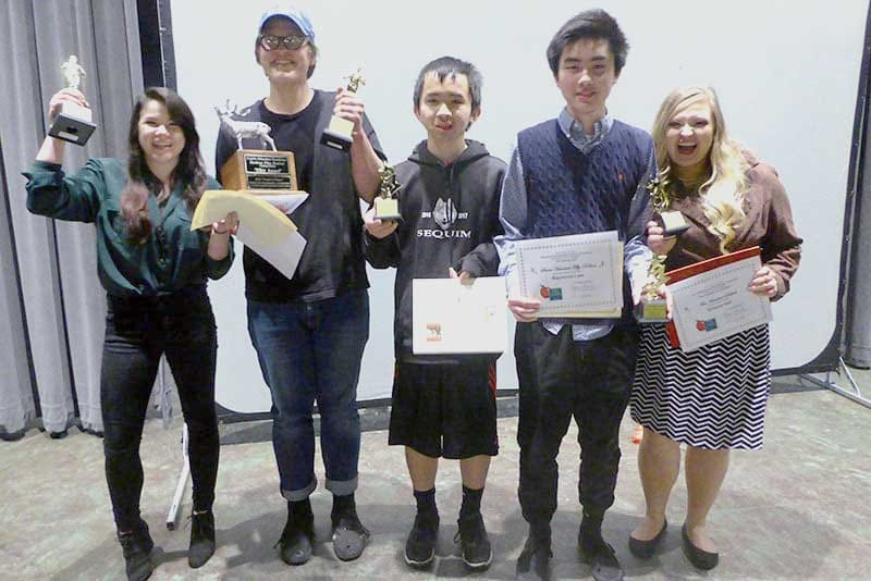 Sequim education students receive awards.